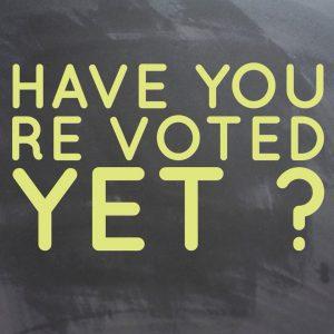 Muddy Stilettos Vote Now