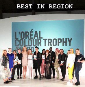 Hertford Hair Salon L'Oreal Colour Trophy win