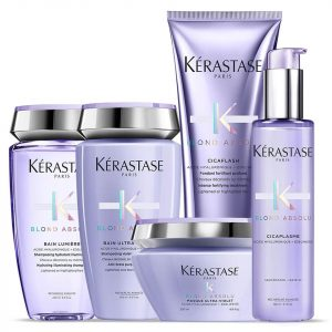Kerastase Blonde Absolu luxury hair care products at top Hertford Hairdressers Johnson Blythe