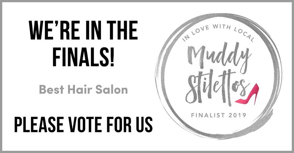 Muddy Stilettos finalists 2019 vote Johnson Blythe Hairdressing Hertford