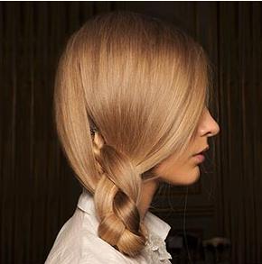 Loreal side braid hair salon Hertford
