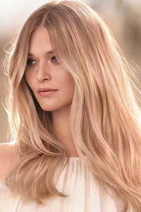 warm blonde hair colours at Johnson Blythe Hertford Hair Salon