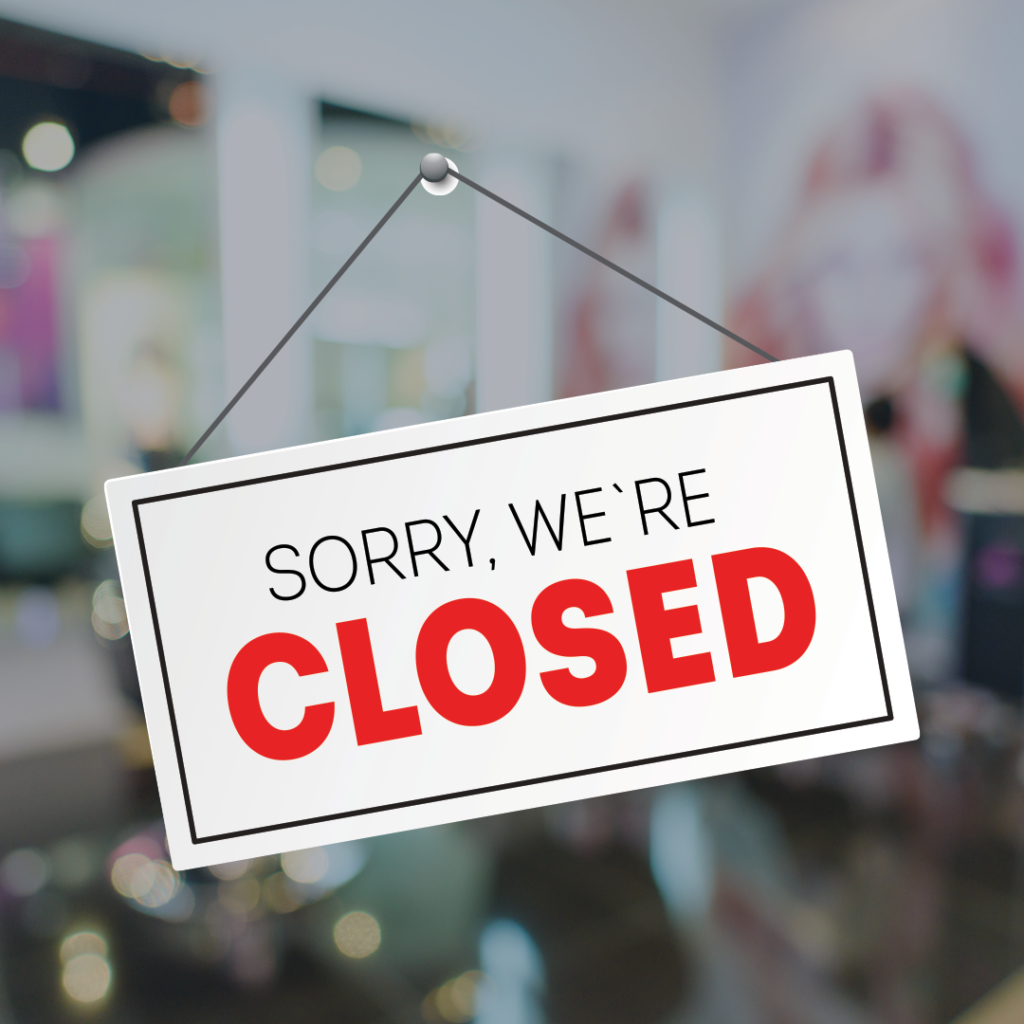Coronavirus  – Temporary Salon Closure