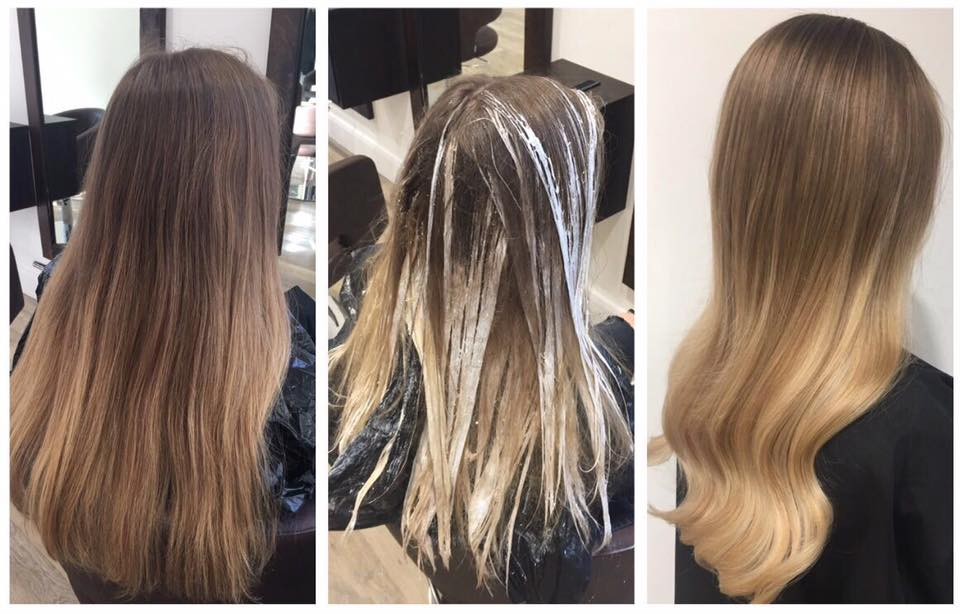 Balayage Transformation Hertford