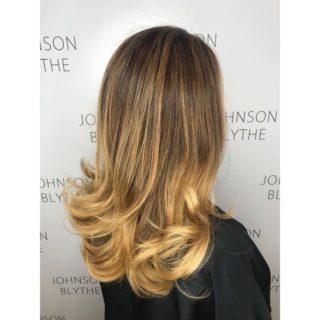 Balayage at Johnson Blythe Hairdressing