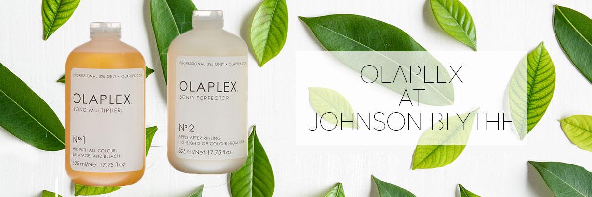 Olaplex at Johnson Blythe BANNER