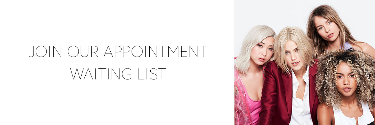 Join Our Waiting List for an Appointment at our Hertford Hairdressing Salon When We Re-Open