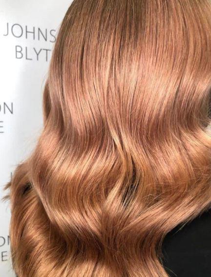 Apricot Hair Colour at Johnson Blythe Hair Salon in Hertford