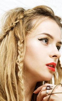 Bohemian Hair Trends at Johnson Blythe Hair Salon in Hertford