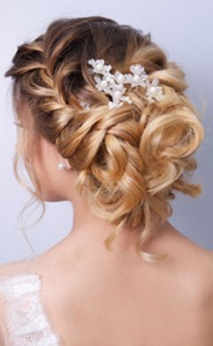 Wedding Hairstyle at Johnson Blythe Hair Salon in Hertford